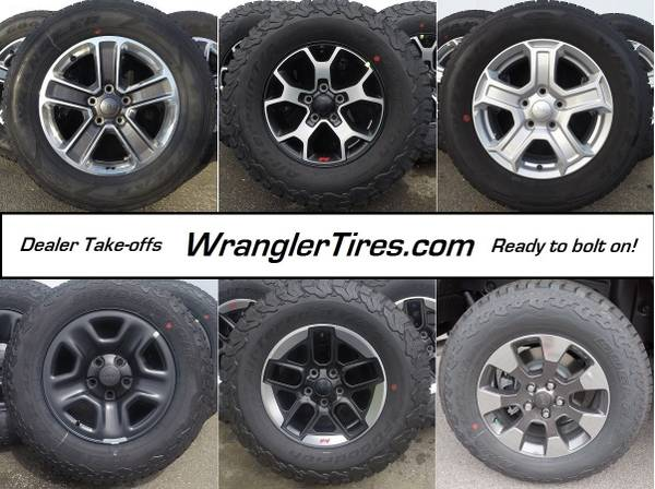 Jeep Wrangler Wheel and Tire Packages
